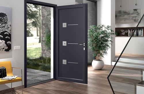 Les portes PVC